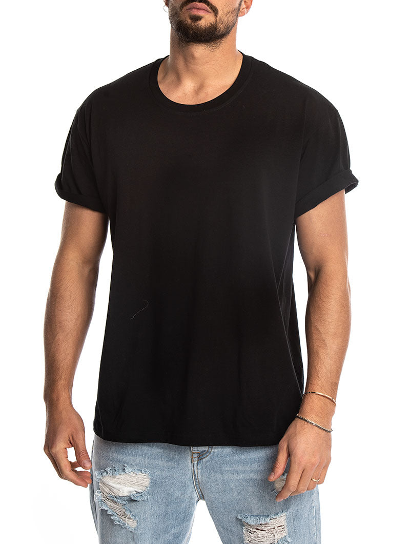 OVERSIZE T-SHIRT IN BLACK