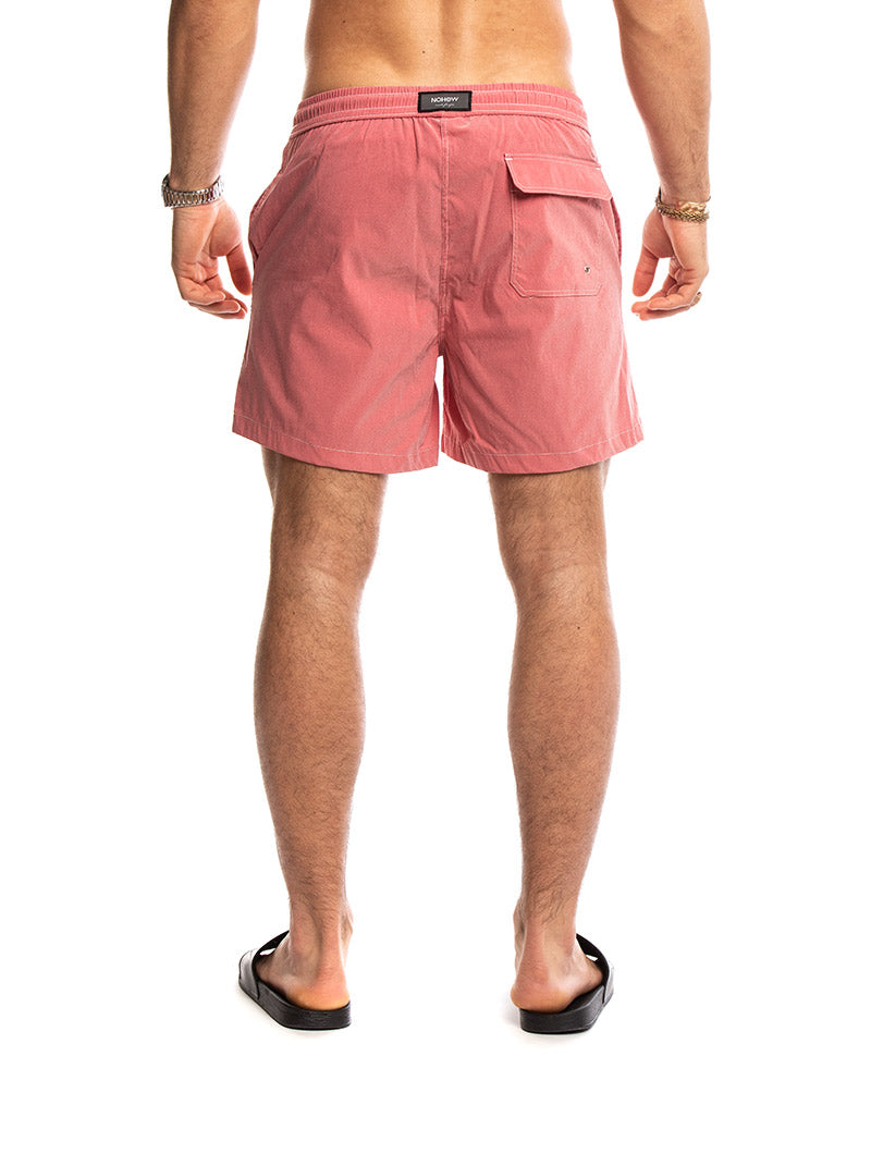 DRACO STONEWASHED SWIMWEAR IN CORAL