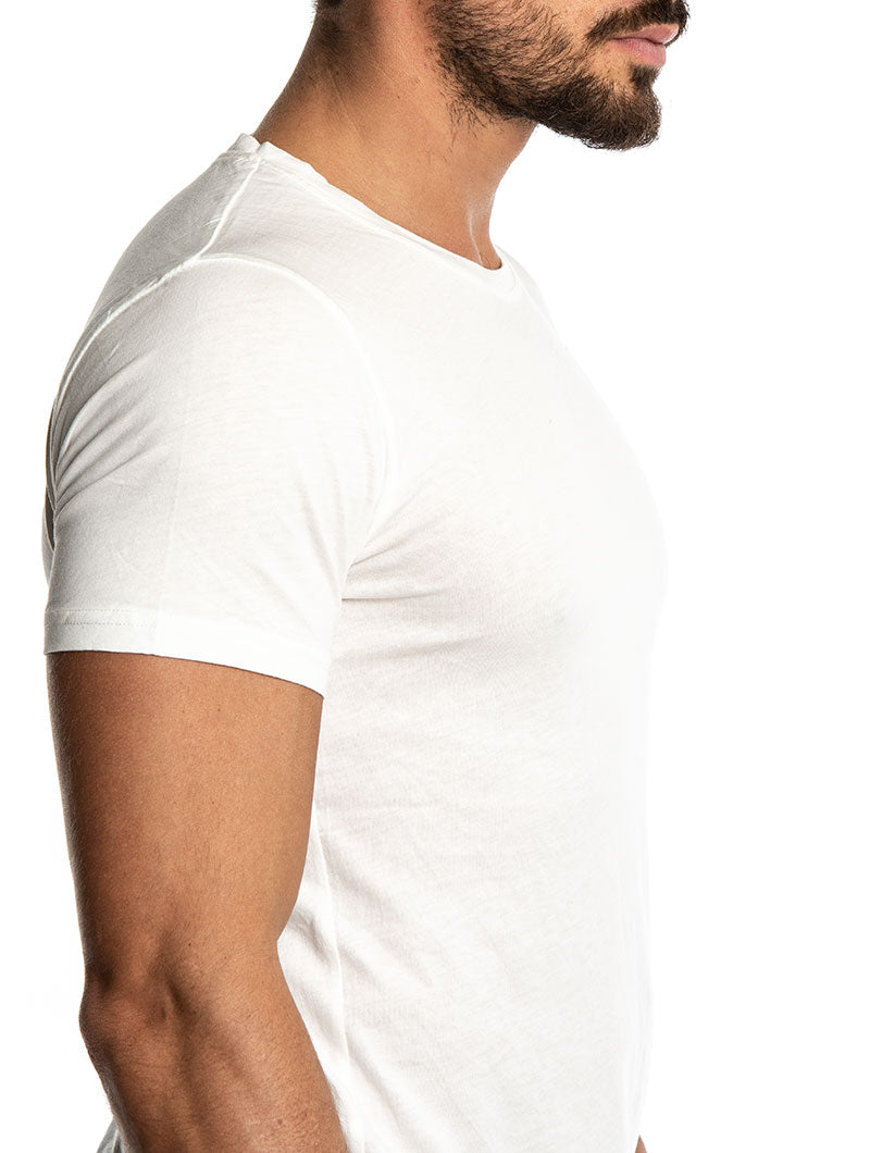 CORY BASIC T-SHIRT IN WHITE