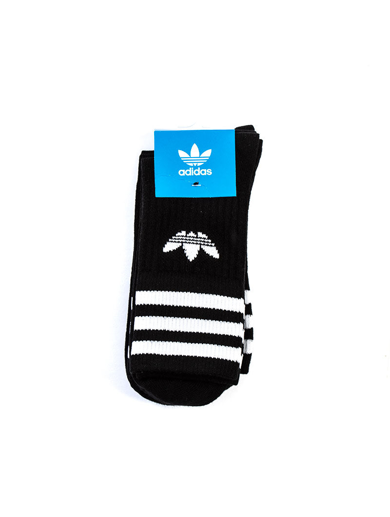 MID CUT CRW SCK SOCKS IN BLACK