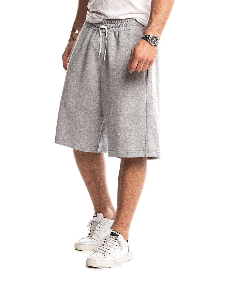 GREY MAMBA SWEATSHORTS