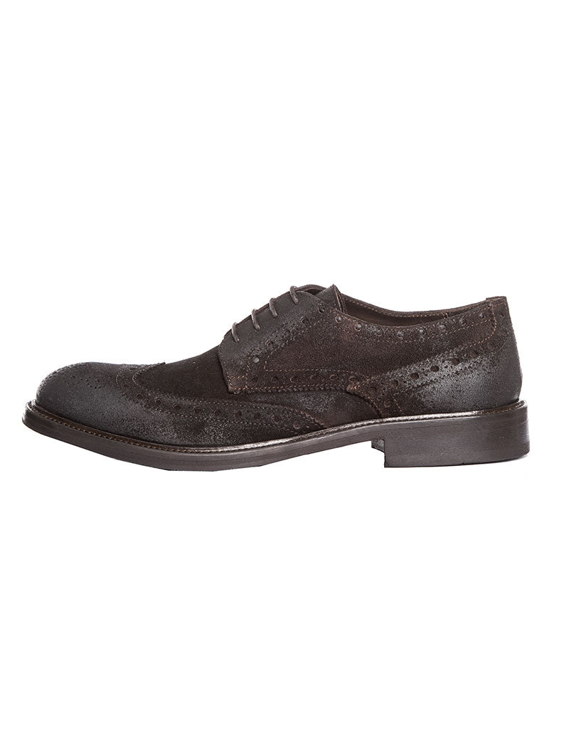 HAMPTON BROGUES IN BROWN