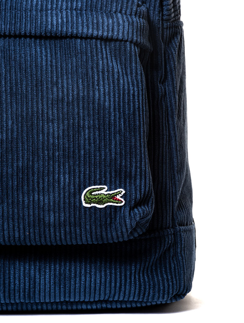LACOSTE BACKPACK IN BLUE NAVY