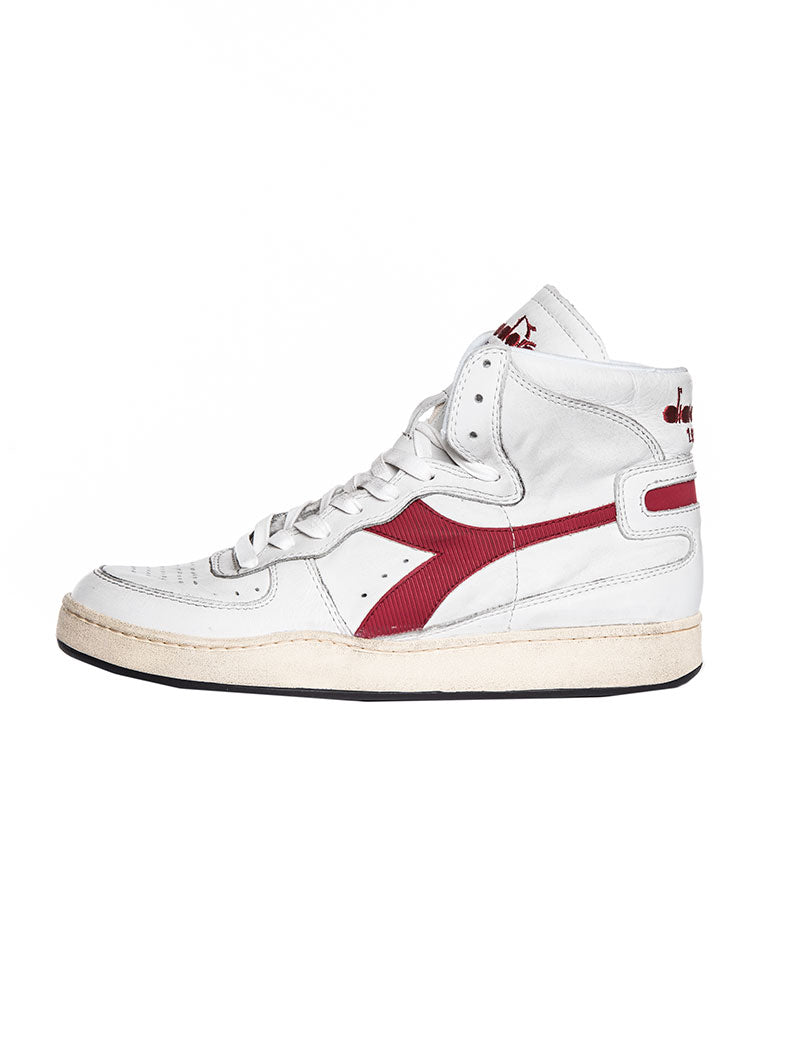91d96df1 MI BASKET USED RED WHITE SHOES