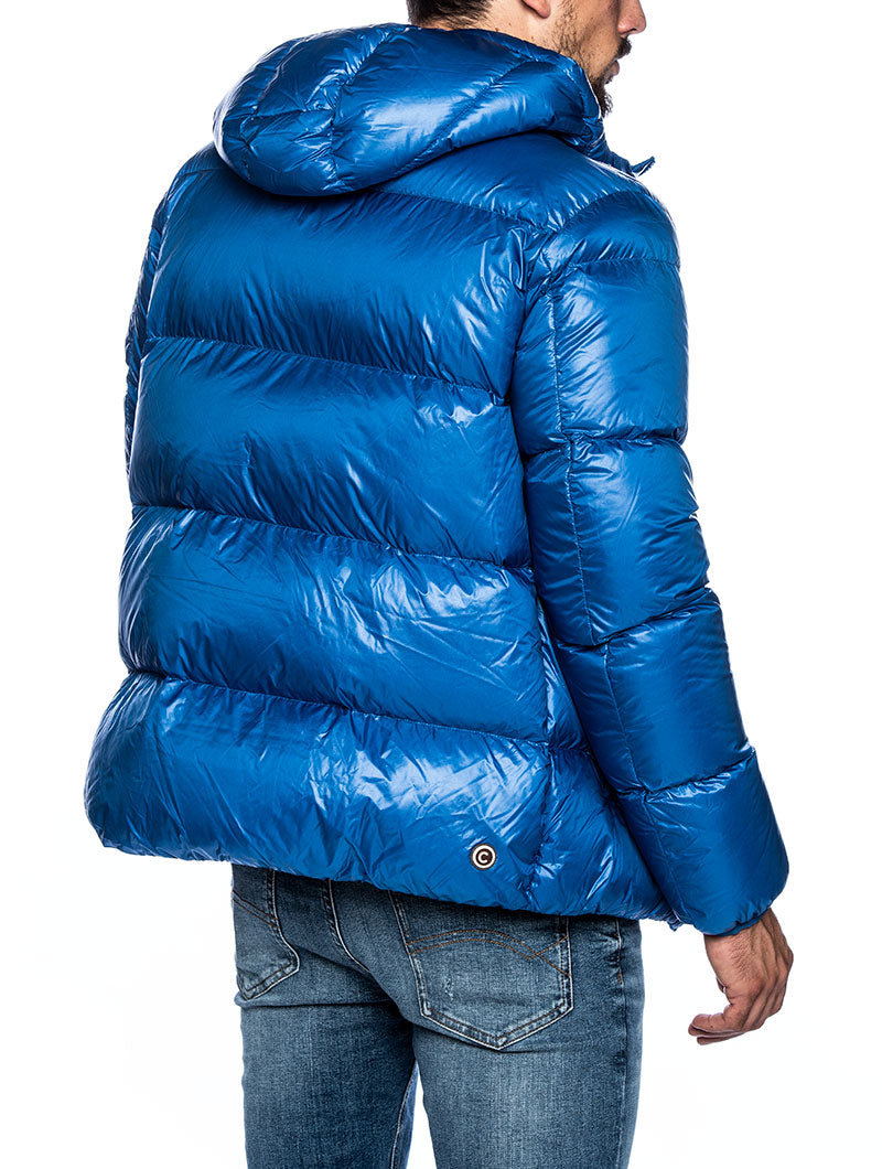 BLAZE DOWN JACKET IN LIGHT BLUE