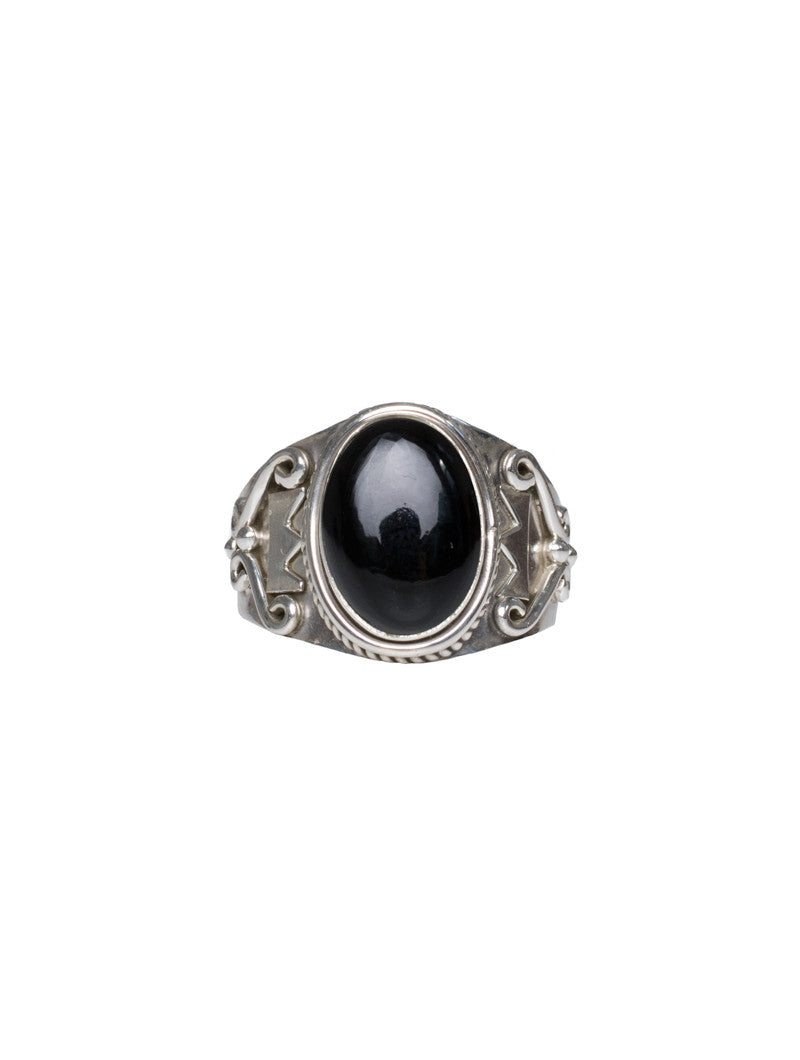 ACCESSORIES | INDIGO SILVER RING | NOHOW STYLE