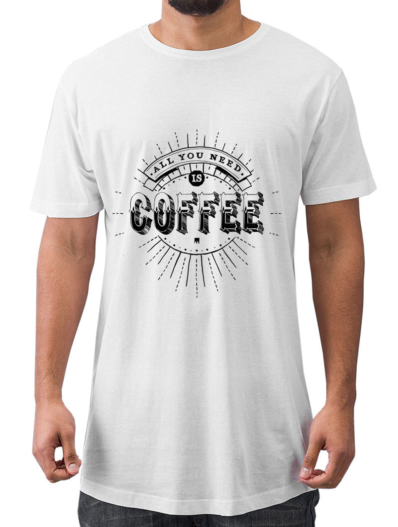 NEED COFFEE LONG TEE