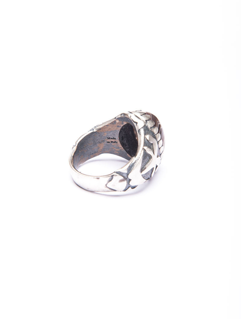 MEN'S ACCESSORIES | LIGHT DROGON RING | SILVER RING | Mdv Jewels | NOHOW