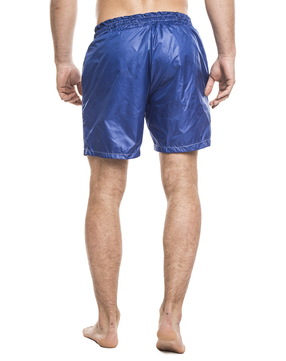 MEN'S CLOTHING | BOTTOMS | SWIMWEAR | BLUE ROYAL SWIM PANTS | SWIM SHORTS | TECHNICAL FABRIC | ELASTICATED DRAWSTRING WAISTBAND | MESH LINING | MID LENGTH | SIDE POCKETS | POLYESTER | #SUMMERVIBES | NOHOW