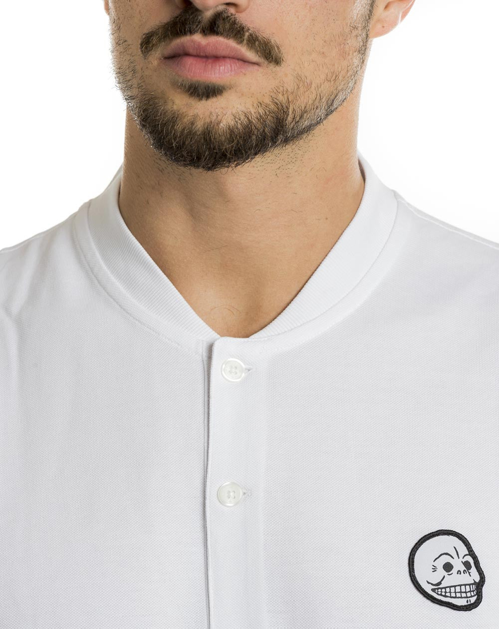 WHITE TRADITION POLO