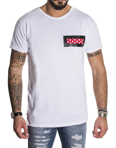 PATCH WHITE T-SHIRT