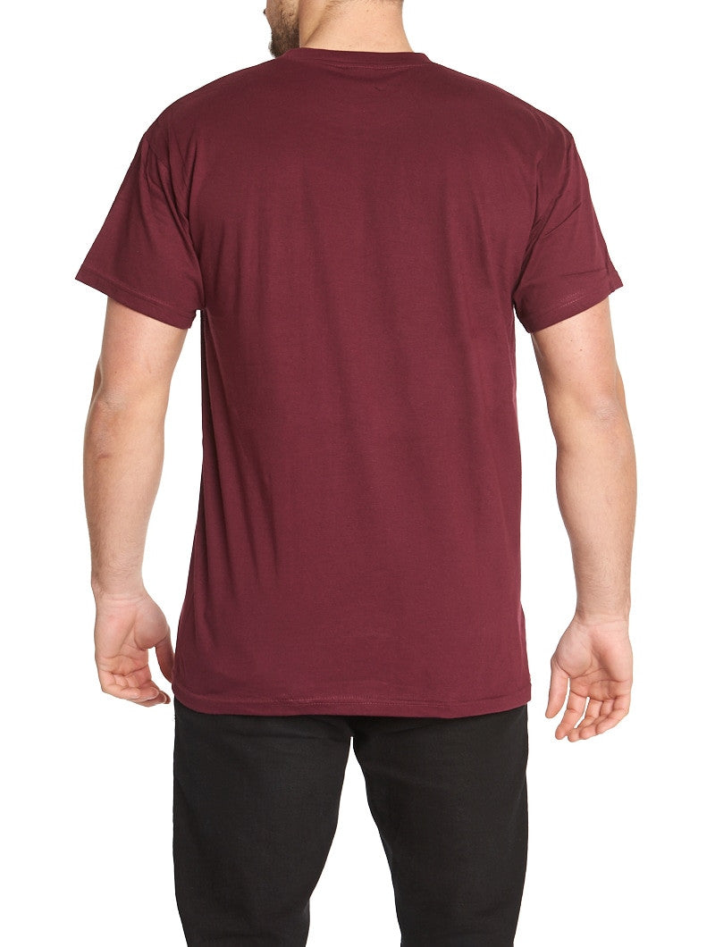 BASIC BORDEAUX T-SHIRT