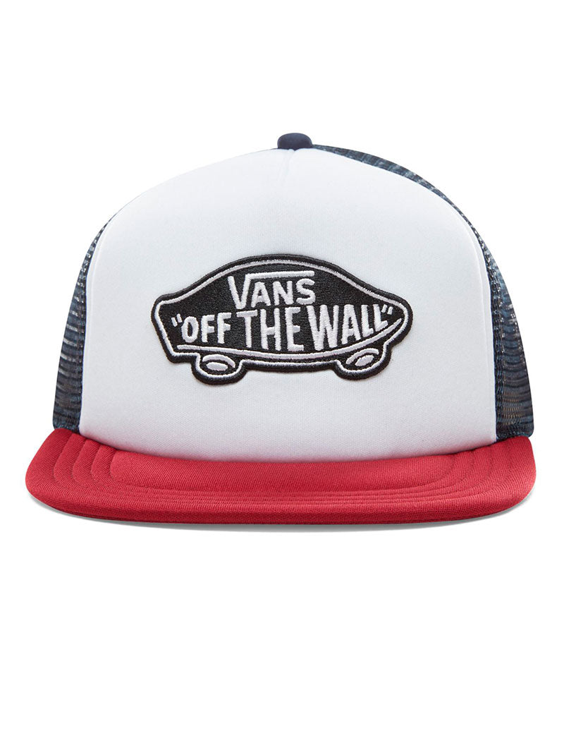 12c3279b087 MN CLASSIC PATCH TRUCKER IN WHITE AND RED – Nohow Style