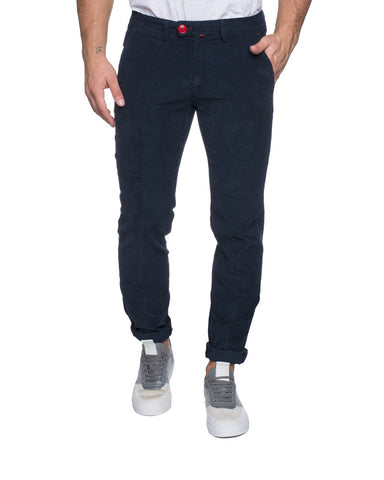 MEN'S TROUSERS | DARK BLUE CHINO TROUSERS | NOHOW STYLE | BARONIO