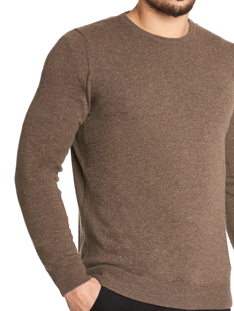 MEN'S CLOTHING | HOLDEN CREWNECK SWEATER IN MUD | NOHOW STREET COUTURE