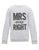 MRS ALWAYS RIGHT SWEATER