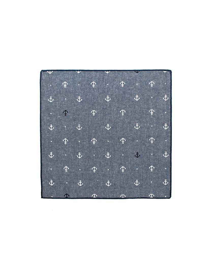 TAHOE ANCHOR POCKET SQUARE grand frank nohow