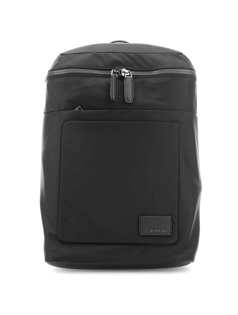0044e0e1950d Black and white nylon backpack ken chad consulting ltd jpg 800x1060 White nylon  backpacks