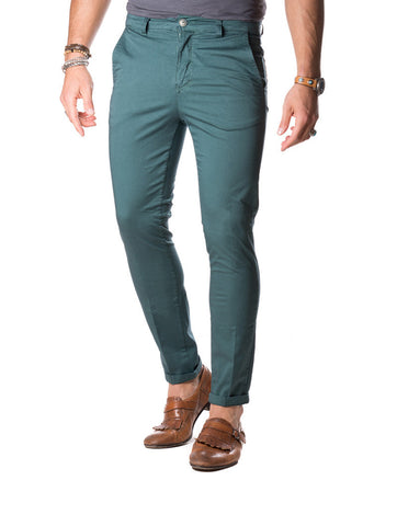 MEN'S TROUSERS | CHINO POCKET GREEN | NOHOW