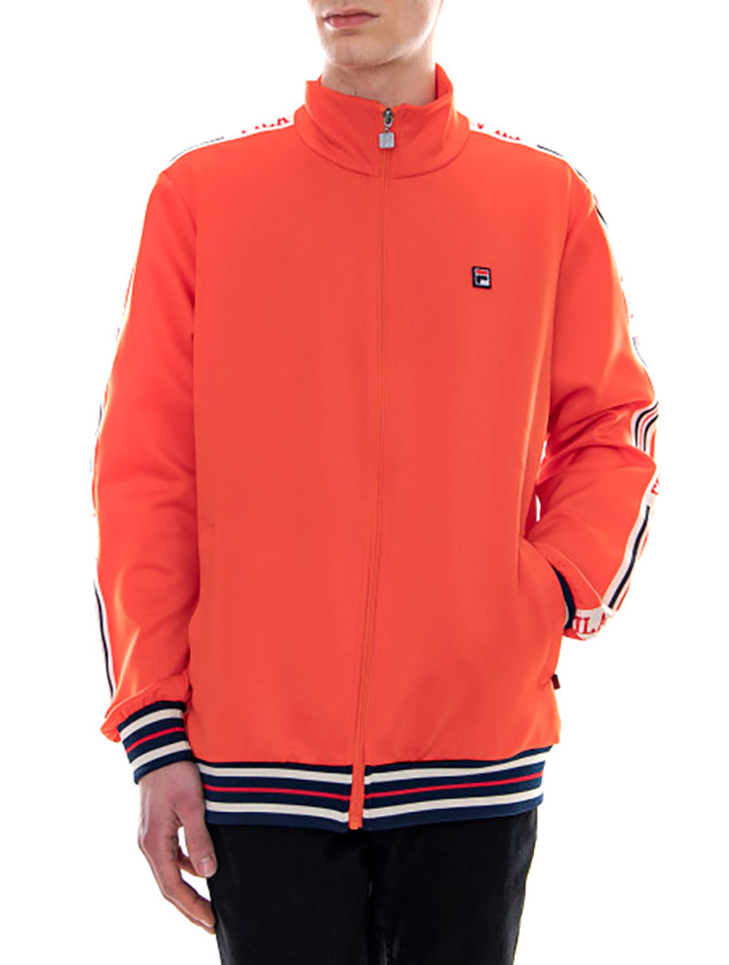 MAN LEFTY TRACK JACKET IN ORANGE