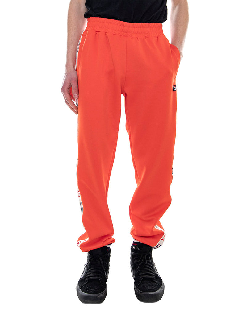 MAN LOU TRACK PANTS IN ORANGE