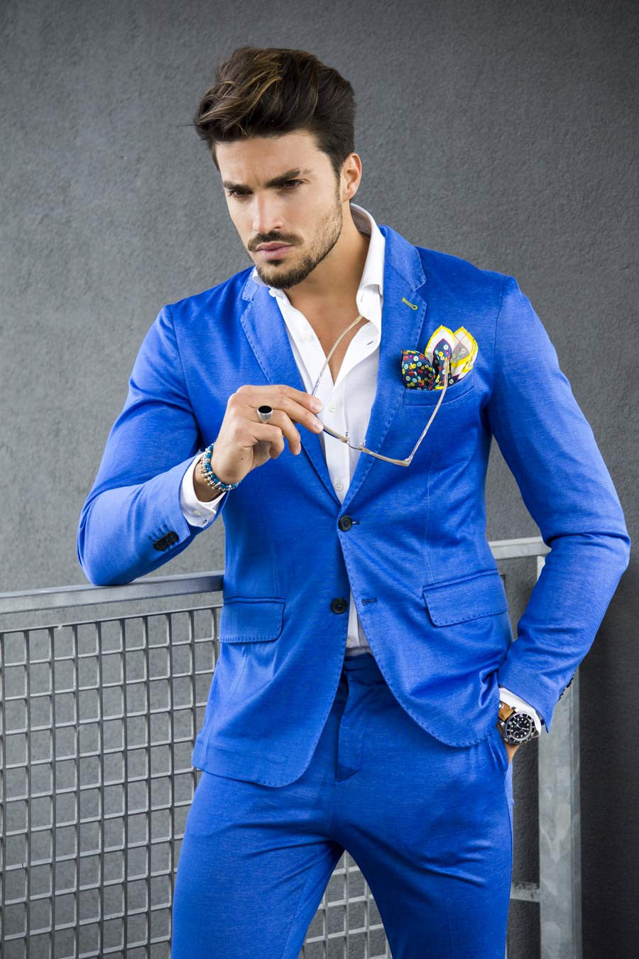 Mariano Di Vaio Look Nohow Street Couture Suit