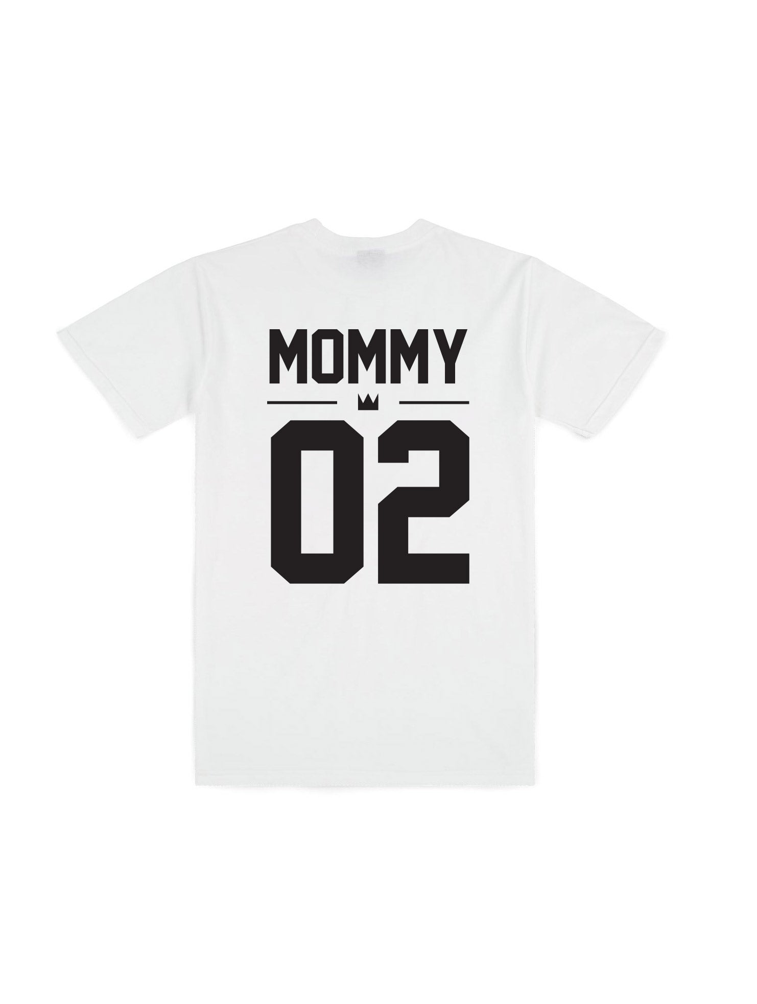 MOMMY WHITE T-SHIRT