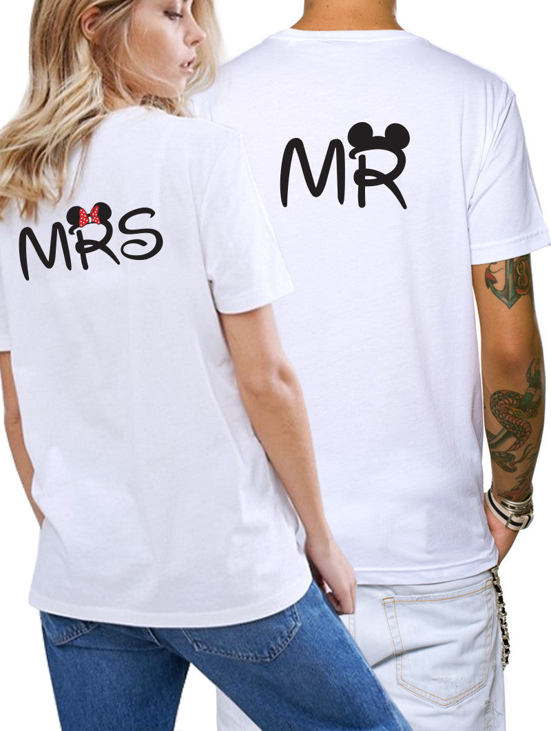 MRS & MR T-SHIRT