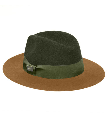 FEDORA GREEN BEIGE STREET COUTURE