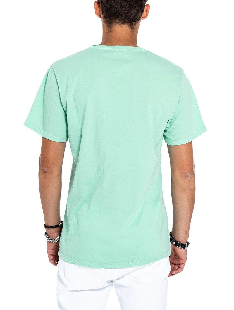 TAM POCKET T-SHIRT IN TURQUOISE
