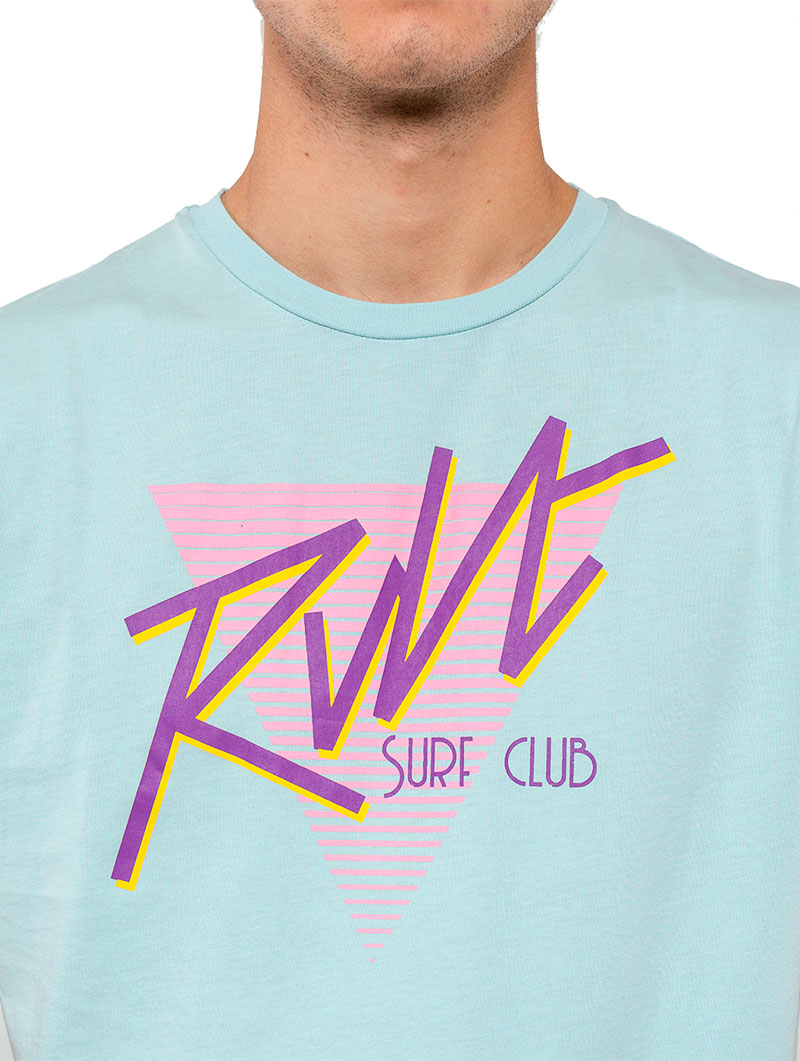 PRINTED T-SHIRT IN LIGHT BLUE