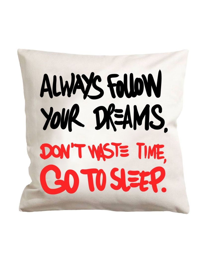 Go to sleep pillowcase nohow