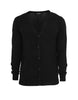 KNITTED CARDIGAN BLACK