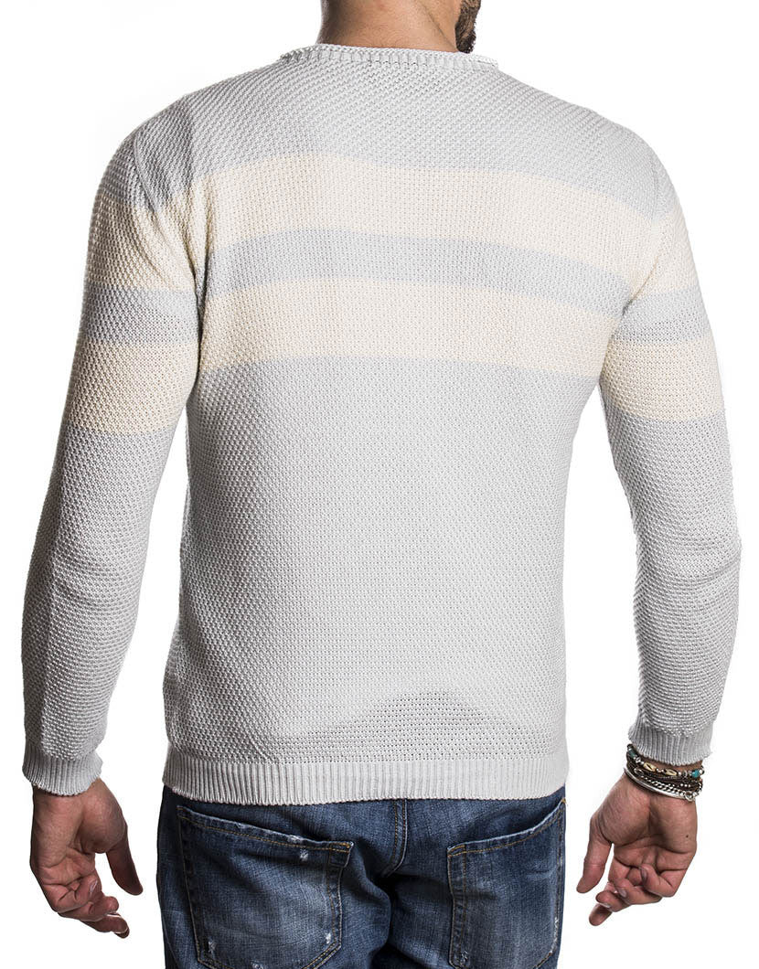 STRIPED AMALFI SWEATER | NOHOW STREET COUTURE