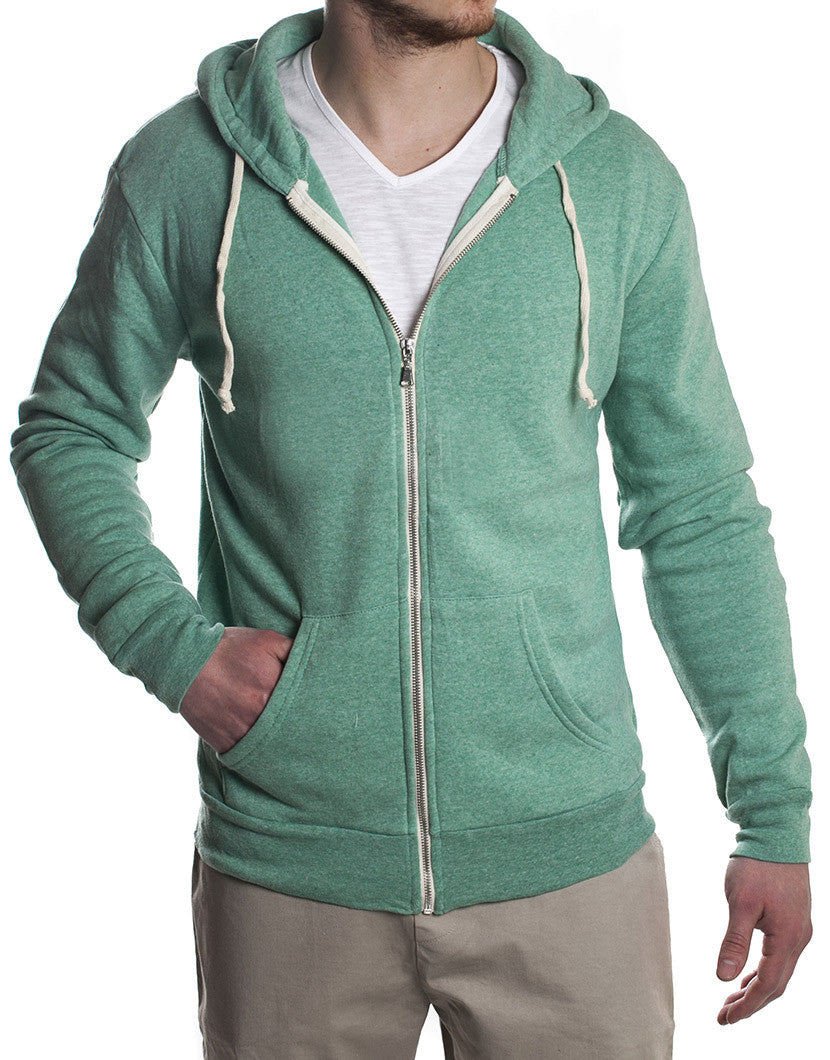 GREEN MEN'S SWEATSHIRT NOHOW
