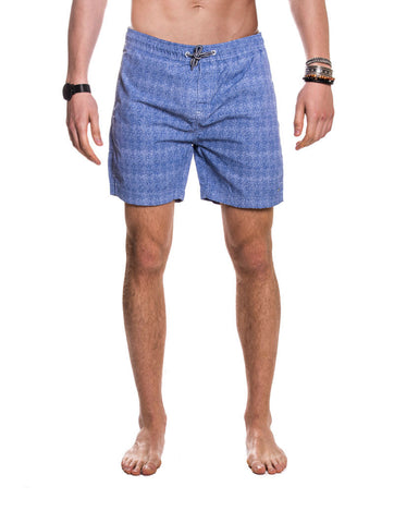 MEN'S CLOTHING | BOTTOMS | SWIMWEAR | SHORTS BARRETT SWIMWEAR | SWIM SHORTS | BLUE | TECHNICAL FABRIC | ELASTICATED DRAWSTRING WAISTBAND | MID LENGTH | SIDE POCKETS | NYLON | #SUMMERVIBES | !SOLID ! NOHOW