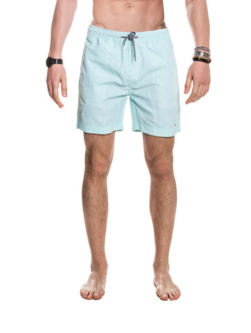 MEN'S CLOTHING | BOTTOMS | SWIMWEAR | SHORTS BARRETT SWIMWEAR | SWIM SHORTS | TURQUOISE | TECHNICAL FABRIC | ELASTICATED DRAWSTRING WAISTBAND | MID LENGTH | SIDE POCKETS | NYLON | #SUMMERVIBES | !SOLID ! NOHOW