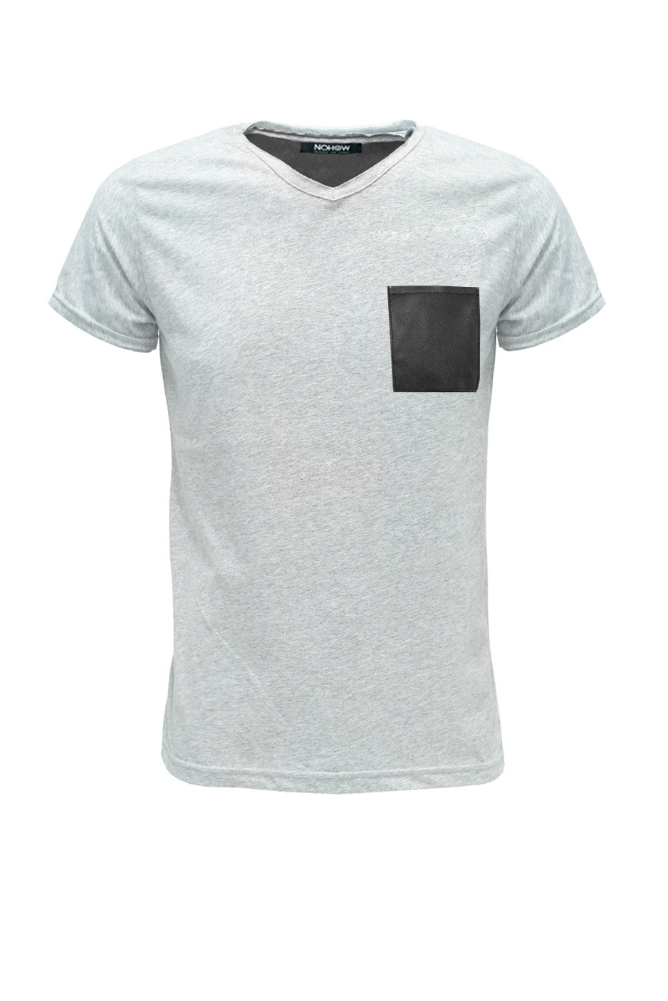 GREY BLACK T-SHIRT