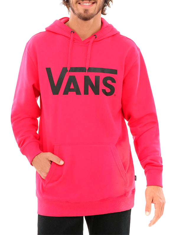 6bc6452a MN VANS CLASSIC PULLOVER HOODIE IN MAGENTA