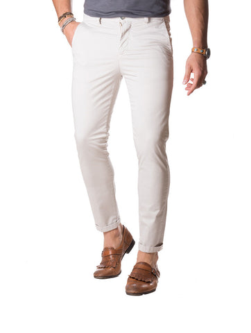 MEN'S TROUSERS | CHINO POCKET BEIGE | NOHOW