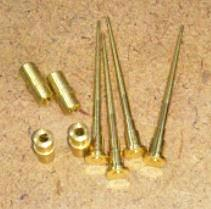 Carburetor needle guide set for Honda S800
