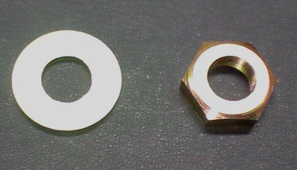 Crank shaft nut and washer set for Honda S Series 1