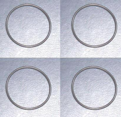 Engine sleeve O ring 4 pc set for Honda T350 / T500