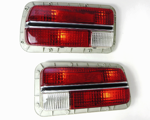Tail lamp assembly set for Datsun 240Z US spec Genuine Nissan, NOS