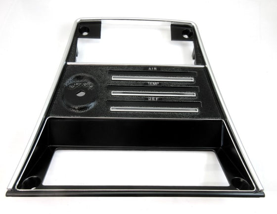 Heater Control Panel for Datsun 240Z Series 1 and 2 with Hyper Silver trim SALE ITEM!