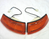 Front turn signal light assembly set for 1969-'74 Datsun 240Z and 260Z