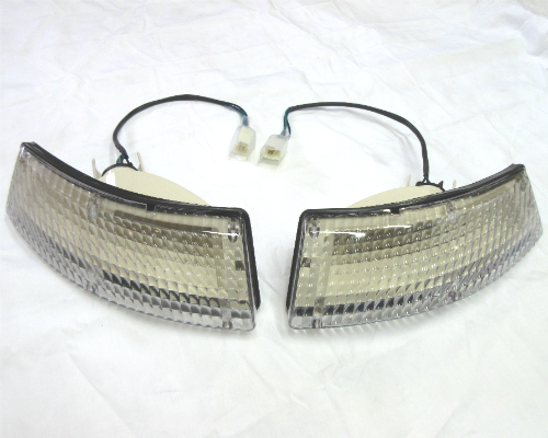 Front turn signal light assembly set for Euro/JDM 1969 -'74 Datsun 240Z and 260Z