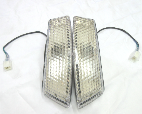 Front turn signal light assembly set for Euro/JDM 1969-'74 Datsun 240Z and 260Z