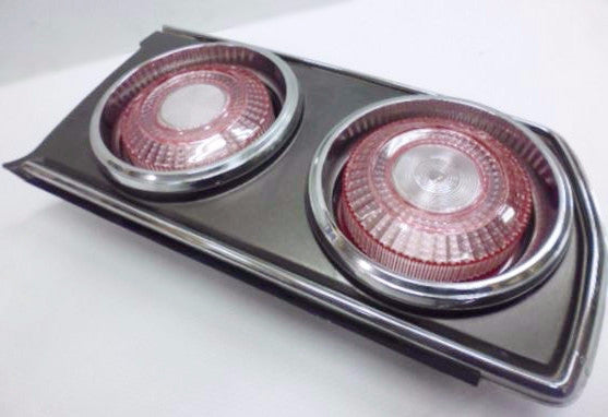 Tail Light Lens Set Crystal Pink for Skyline C210