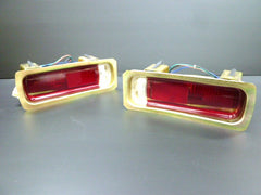 1969 Skyline Hakosuka tail lamp assembly set